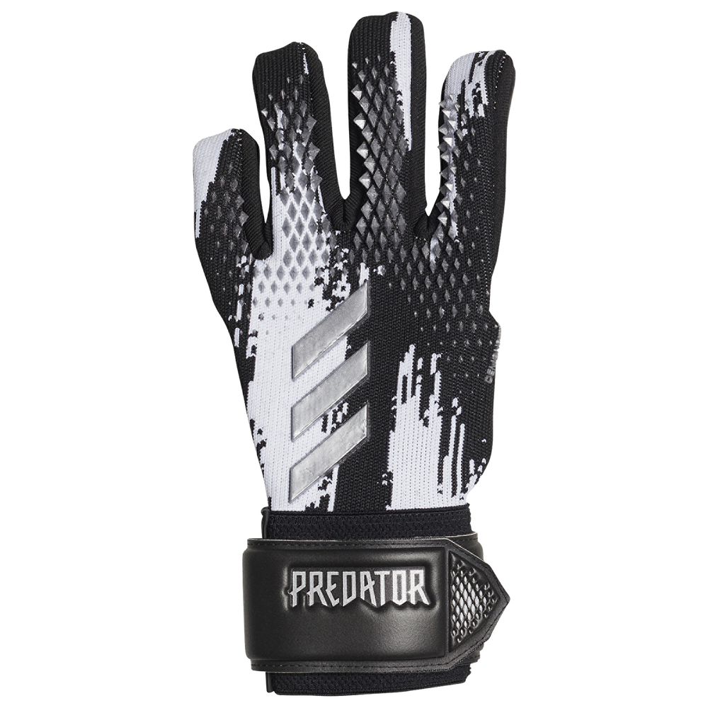 adidas Predator Competition Goalkeeper Gloves - Adult / Black/White/Gold