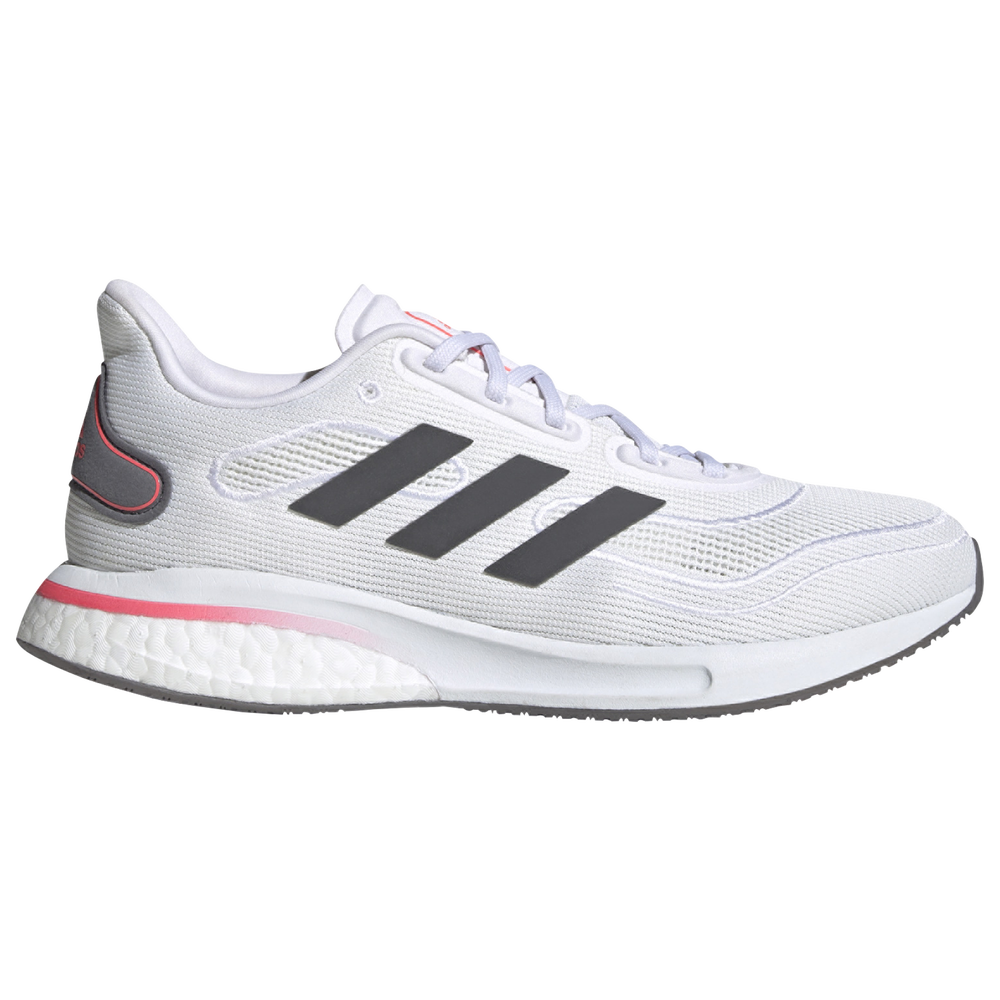 adidas Supernova - Womens / White/Grey/Signal Pink