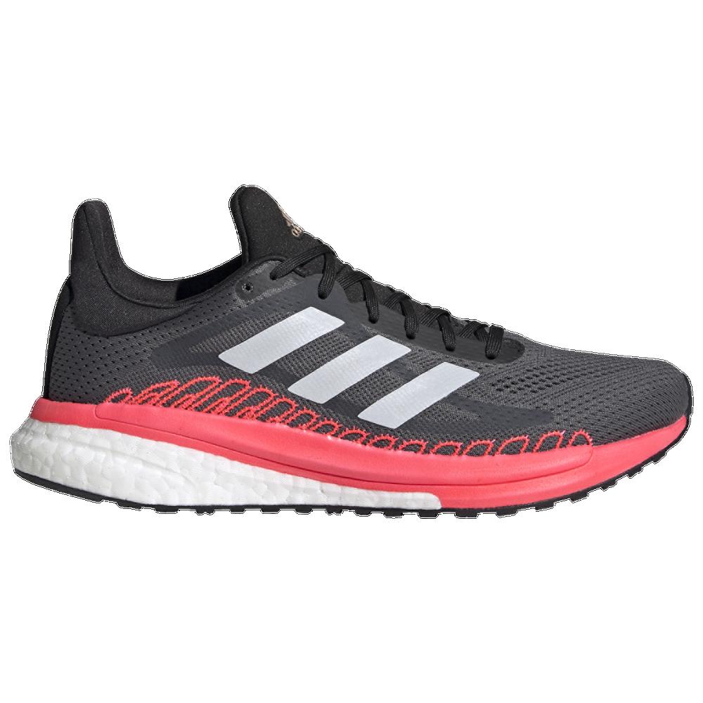 adidas Solar Glide ST 3 - Womens / Grey/Copper Metallic/Signal Pink