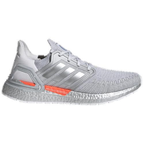 Adidas Originals Mens Adidas Ultraboost 20 In Dash Grey/mtlc Silver/halo Silver