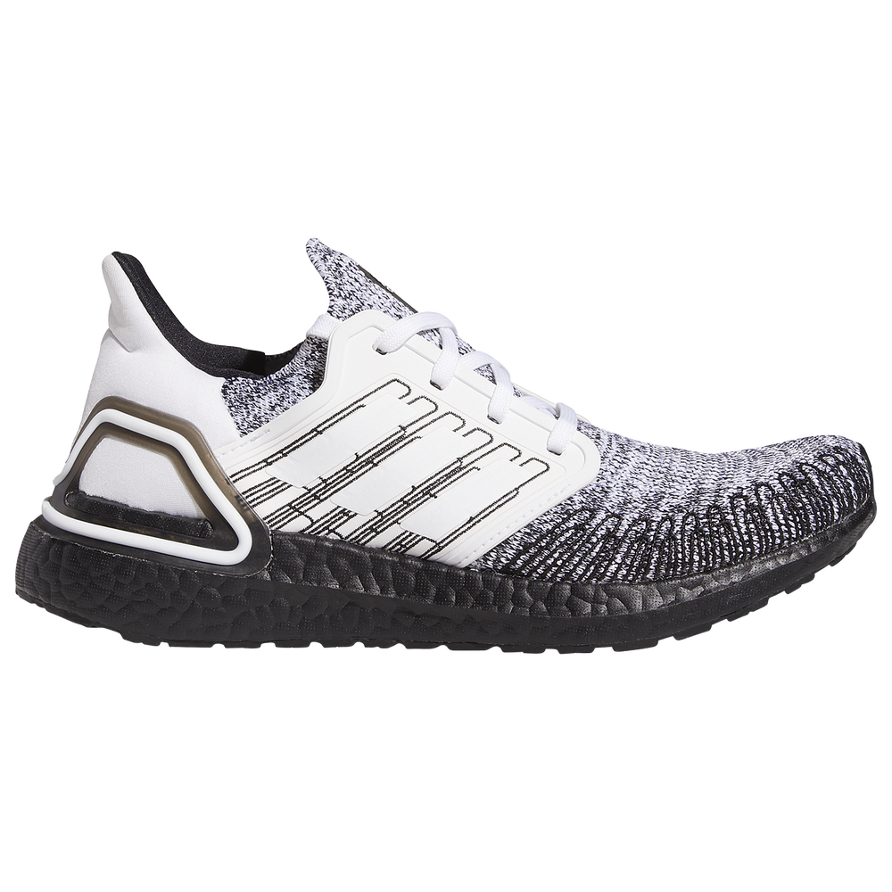 adidas Ultraboost 20 - Womens / White/Black