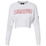 Starter Raw Edge Crop Crew - Women's