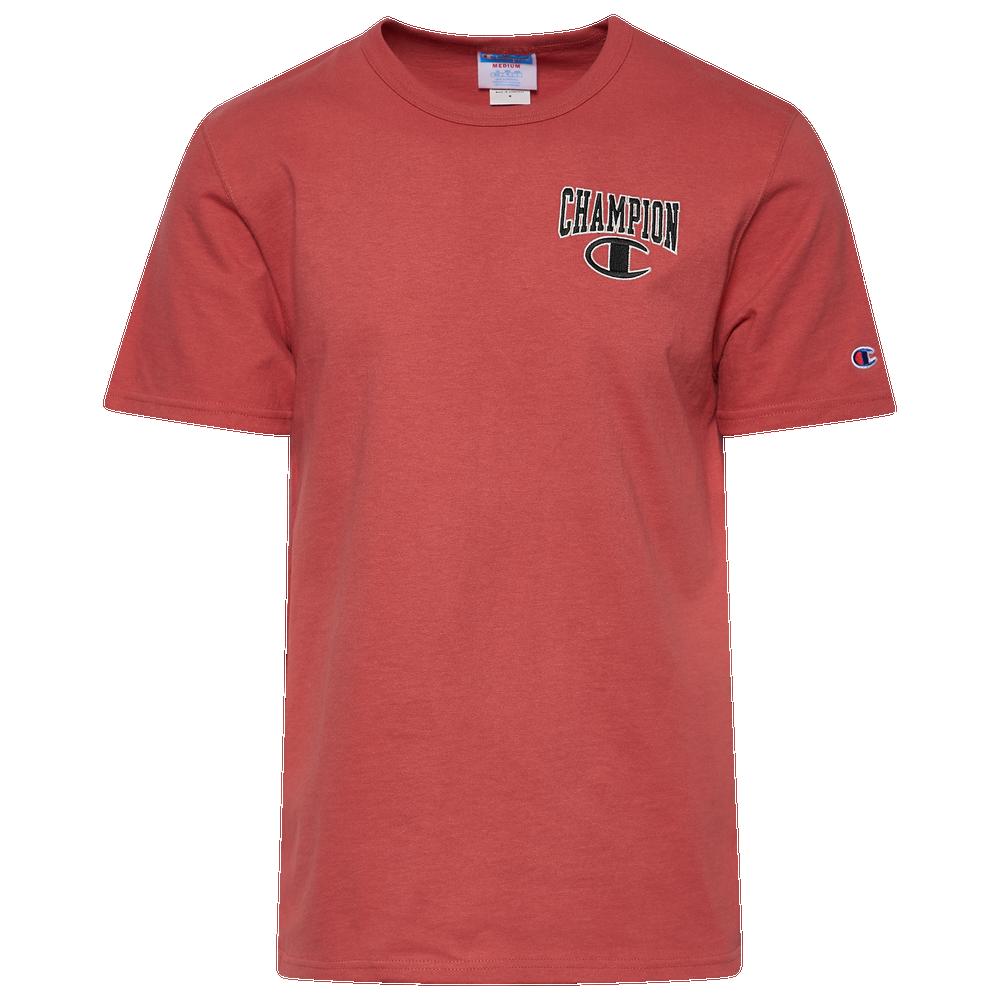 Champion Heritage Arc Logo T-Shirt - Mens / Picante Pink
