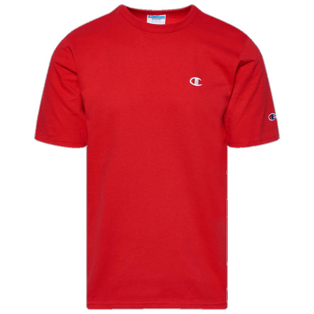 Champion Heritage T-Shirt - Mens / Team Red Scarlet/White