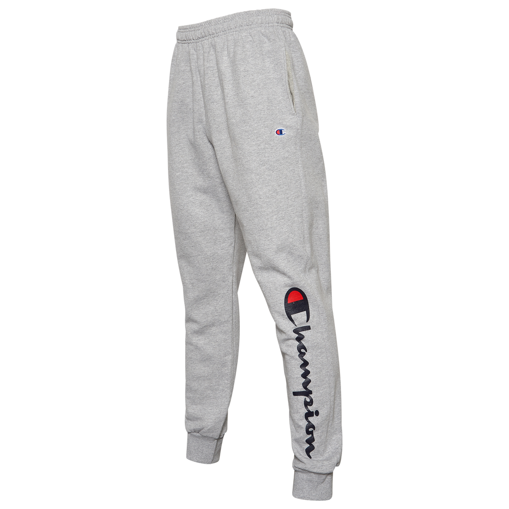 Champion Powerblend Graphic Joggers - Mens / Oxford Grey