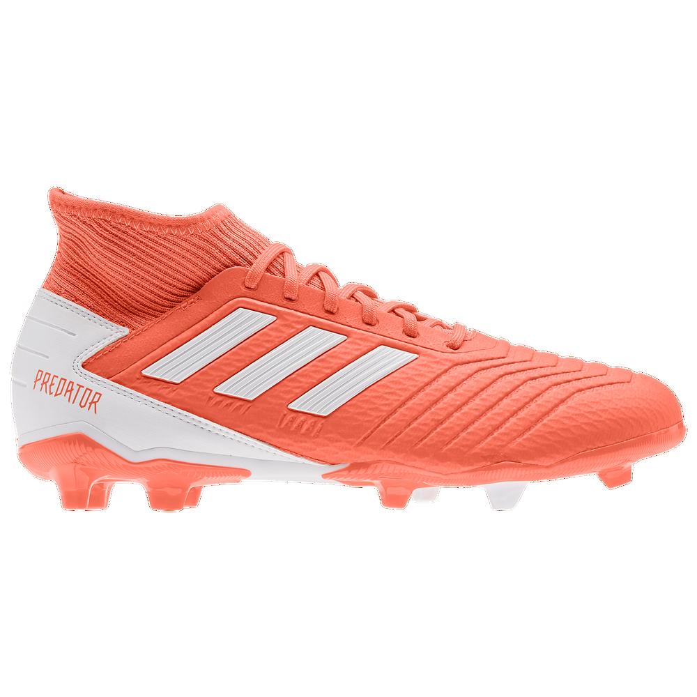 adidas Predator 19.3 FG - Womens / Hi-Res Coral/Footwear White/Glow Pink