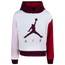 Jordan Luxe Colorblock Fleece Pullover Hoodie - Girls' Grade School