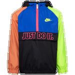 Nike Just Do It Fly Half-Zip Windbreaker - Boys' Preschool