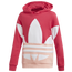adidas Originals Big Trefoil Hoodie - Girls' Grade School