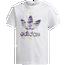 adidas Originals Adicolor Big Trefoil T-Shirt - Girls' Grade School