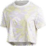 adidas Originals CLR Plus Size Crop T-Shirt - Women's