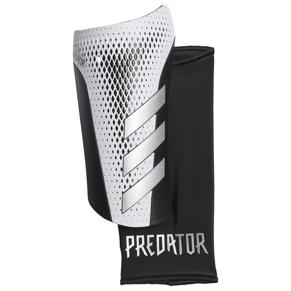 adidas Predator League Shin Guards - Adult / Black/Gold/White