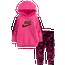 Nike Fleece Tunic & Velour Legging Set - Girls' Infant