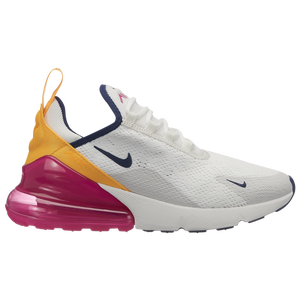 nike air max 270 womens white and orange