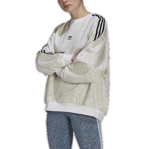 Adidas Originals Cottons WOMENS ADIDAS CREW SWEATSHIRT