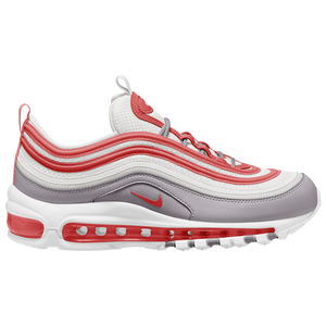 air max 97 university red on feet