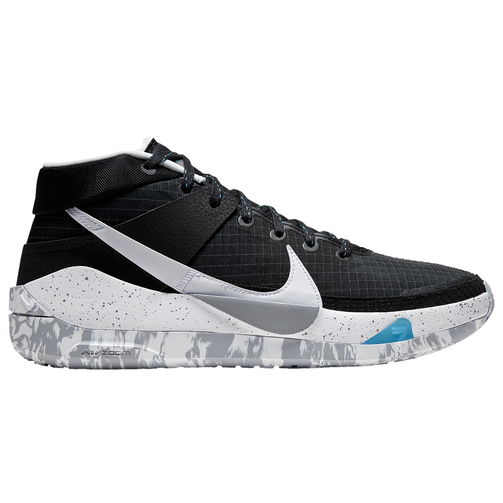 Nike KD 13 - Boys Grade School / Kevin Durant | Black/White/Wolf Grey