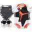 Jordan Retro 6 Bib Bodysuit Bootie 3 Piece Set - Boys' Infant