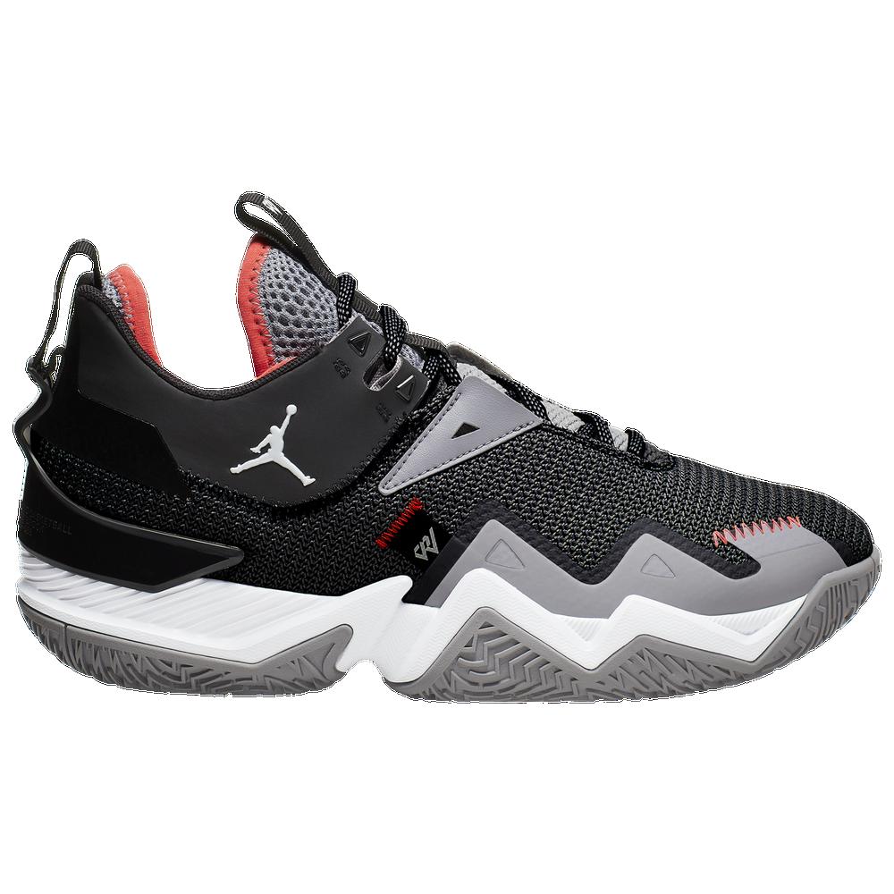 Jordan One Take - Mens / Black/White/Cement Grey/Bright Crimson