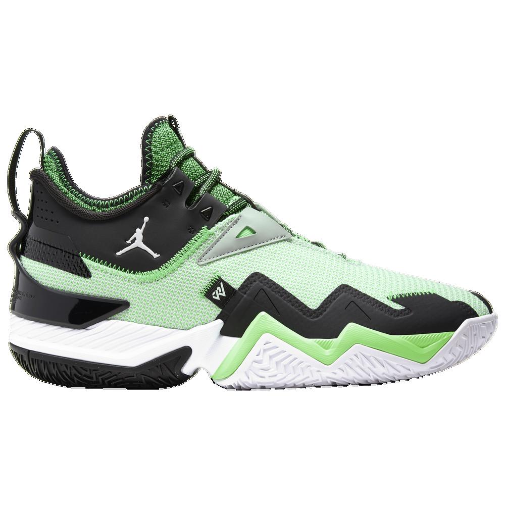 Jordan One Take - Mens / White/Black/Rage Green