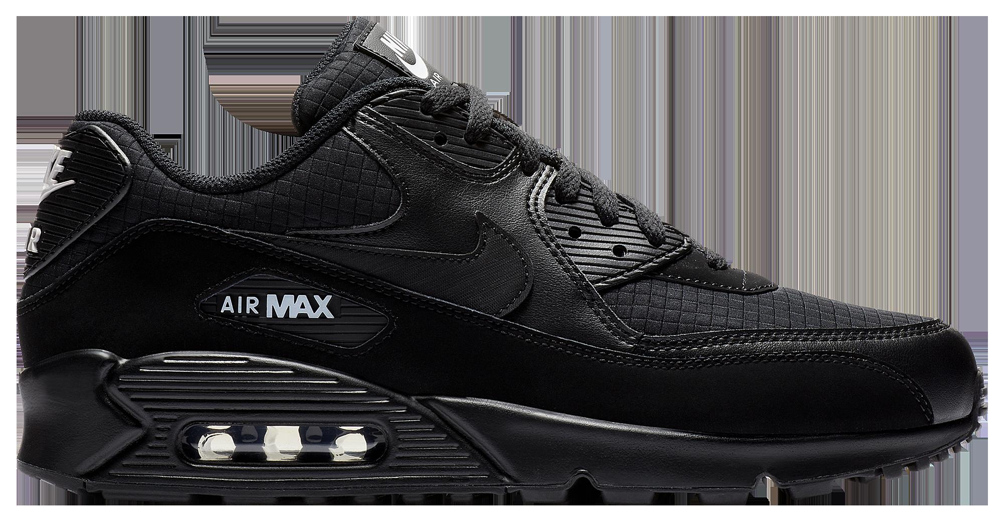 nike air max 90 essential preto e branco