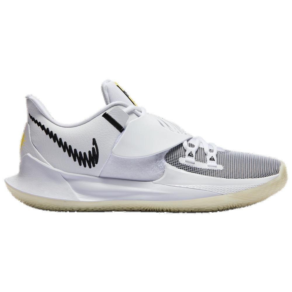 Nike Kyrie Low 3 - Mens / Kyrie Irving | White/Black