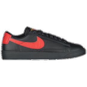 Women Nike Blazer Low Blue Orange Shoes