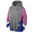 Nike Mixed Media Pullover Hoodie - Women's