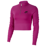 Nike Air Long Sleeve Rib Top - Women's