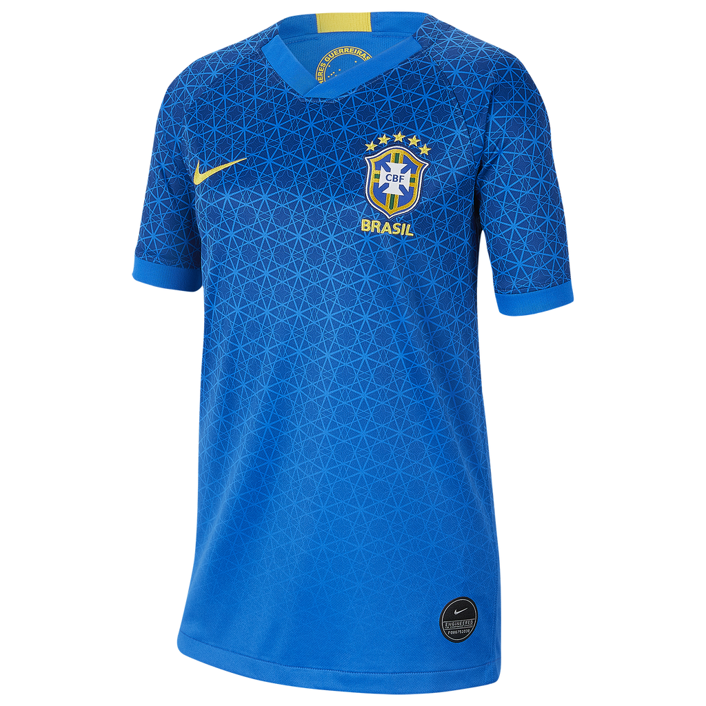 Nike Brazil Breathe Stadium Jersey by Eastbay