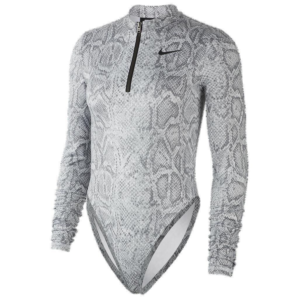 Nike All Over Print Long Sleeve Bodysuit by Nike
