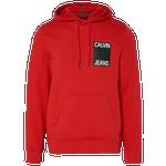 Calvin Klein Stacked Logo Hoodie - Men's