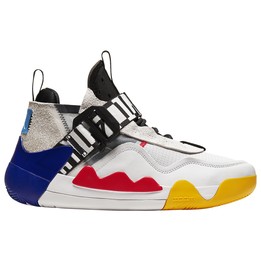 Jordan Defy SP - Mens / Vast Grey/White/Black/Crimson