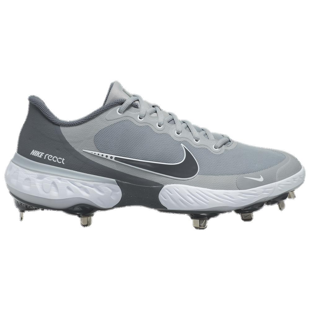 Nike Alpha Huarache Elite 3 Low - Mens / Light Smoke Grey/Iron Grey/Smoke Grey
