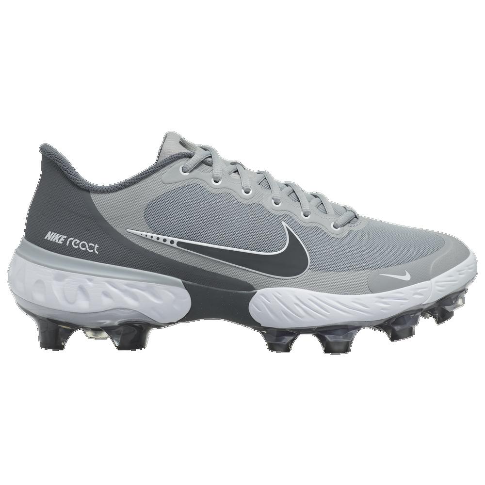 Nike Alpha Huarache Elite 3 Low MCS - Mens / Light Smoke Grey/Iron Grey/Smoke Grey
