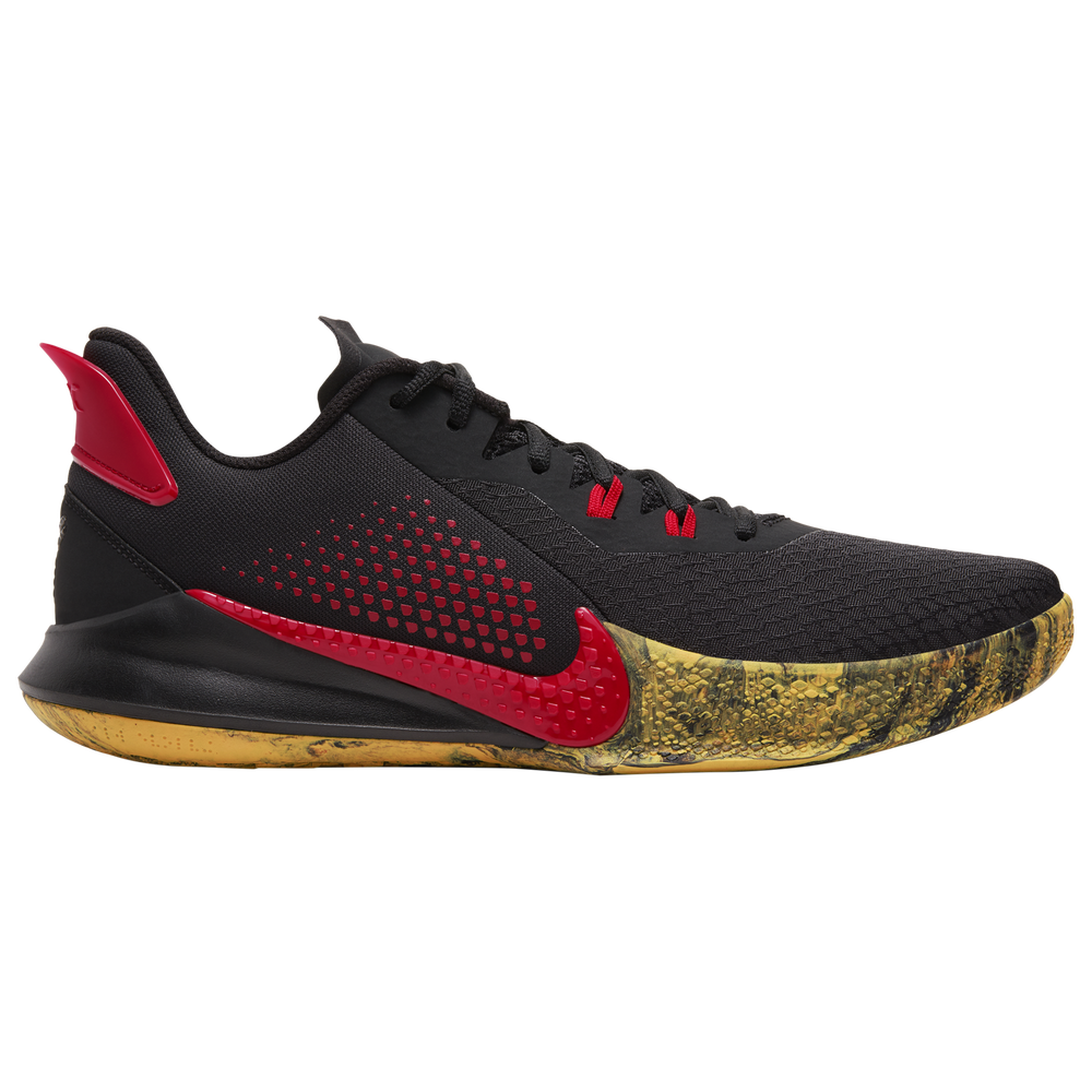 Nike Mamba Fury - Boys Grade School / Kobe Bryant | Black/University Red/University Gold