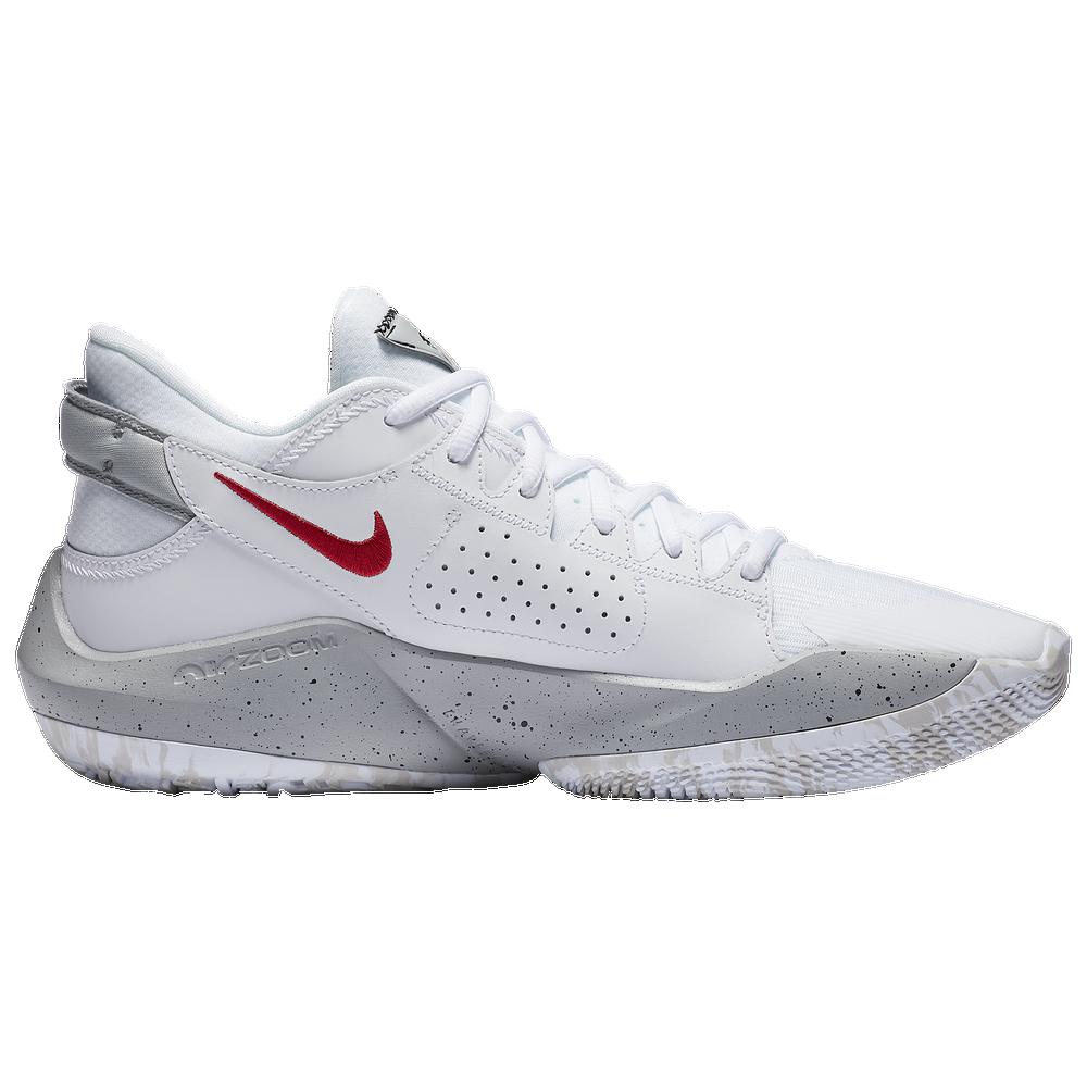 Nike Zoom Freak 2 - Mens / Giannis Antetokounmpo | White/White/University Red