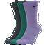 Nike 3 PK Dri-FIT Everyday Plus Crew Socks - Men's