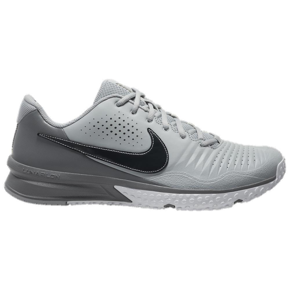 Nike Alpha Huarache 3 Varsity Turf - Mens / Light Smoke Grey/Dark Smoke Grey/Smoke Grey