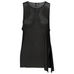 Kendall+Kylie Mesh Knotted Tank - Women's