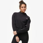 Champion Reverse Weave Mock Neck Crop - Women's