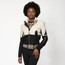 La La Anthony Crop Sherpa Funnel Jacket - Women's