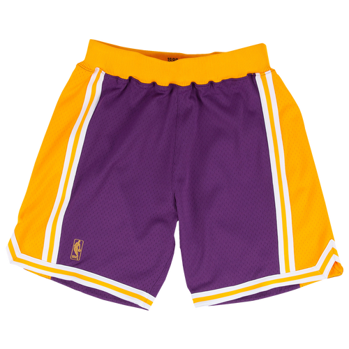 Mitchell & Ness MENS LOS ANGELES LAKERS MITCHELL & NESS NBA AUTHENTIC SHORTS