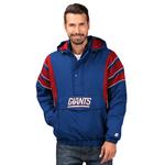 Starter NFL The Impact 1/2 Zip Hooded Jacket - Men's