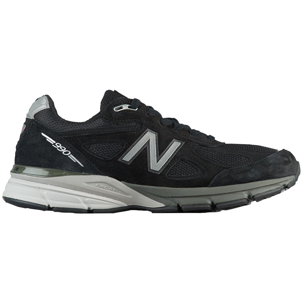 New Balance 990v4 - Mens / Black/Silver | Made in USA