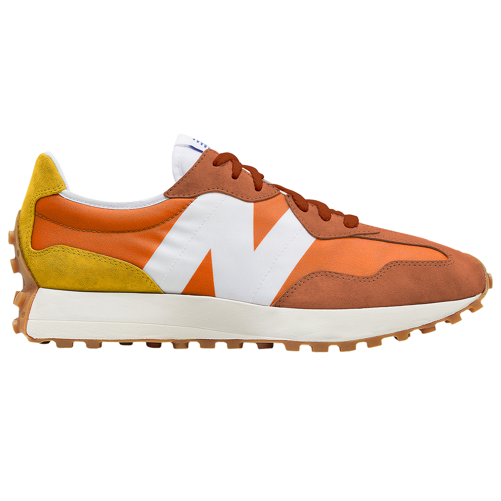 New Balance 327 - Mens / Varsity Orange/Aspen