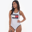 Tommy Hilfiger Swim Logo Racerback (One Piece) - Women's