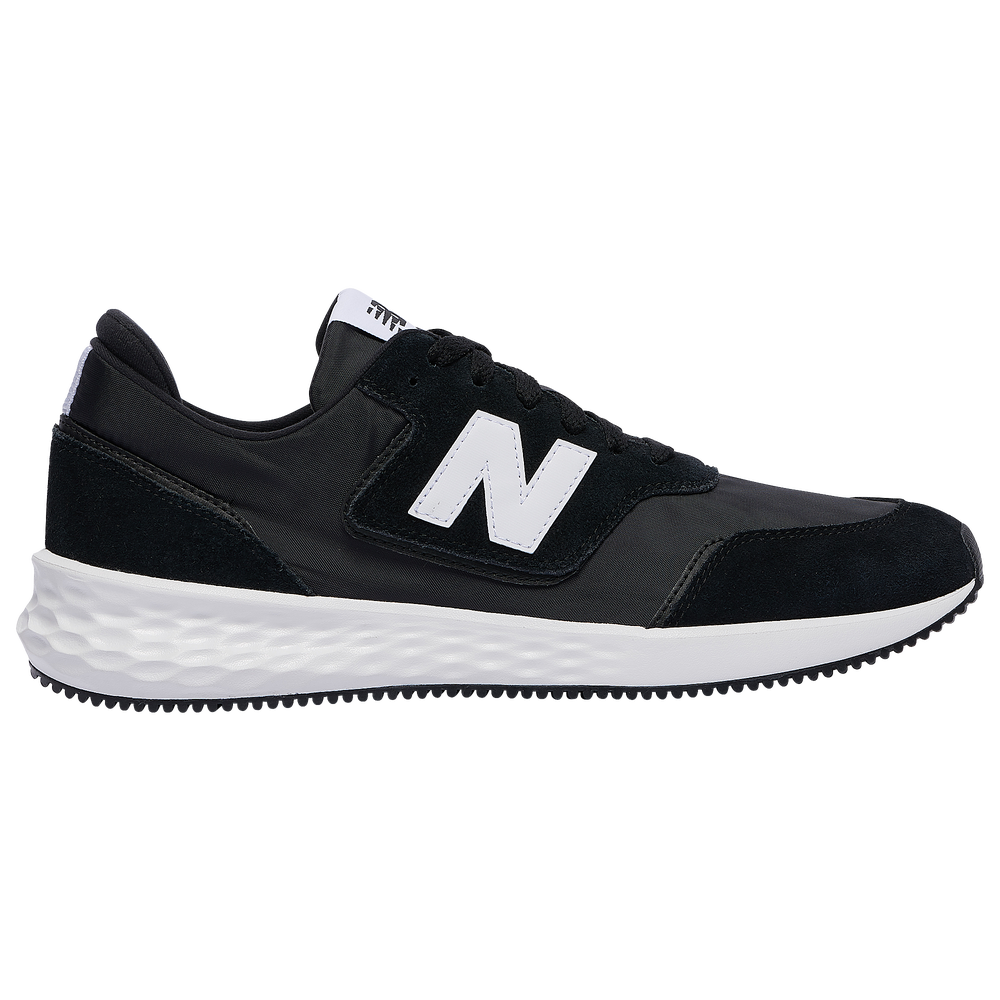 New Balance X70 - Mens / Black/White Munsell