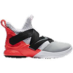 size 40 de0d0 83cae Lebron James Nike Soldier XII SFG - Mens - White Dark Grey Flash Crimson