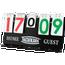Tachikara Porta-Score Portable Flip Scoreboard
